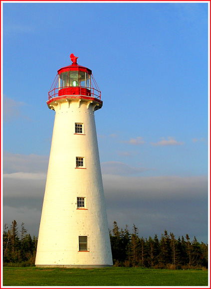prince edward island lighthouse at dusk author do downs jim