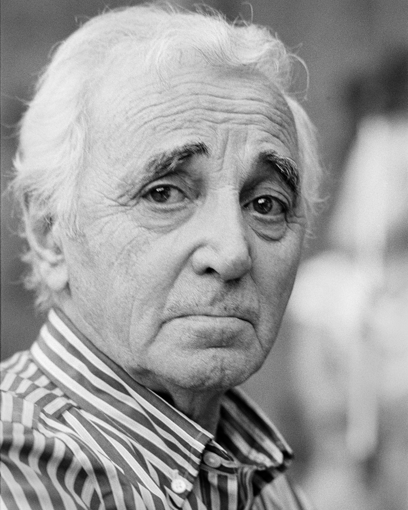 charles aznavour rehearsing at the mountain winery simard marie claude