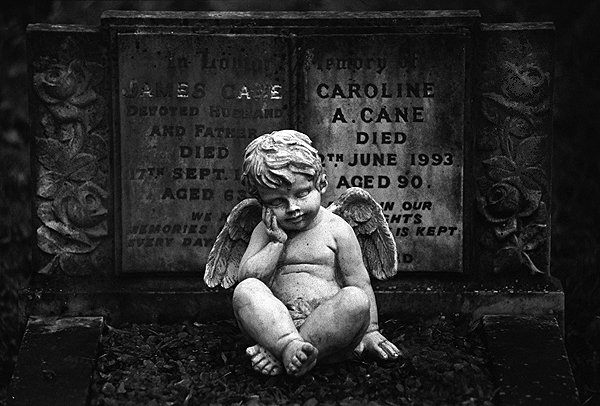 childs grave in highgate cemetery london author ging michael