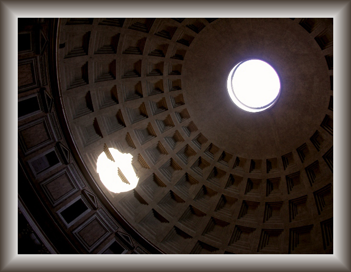 ceiling of the pantheon author franz manuel