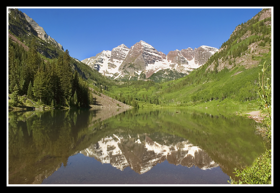maroon bells before sun rays author dube dave