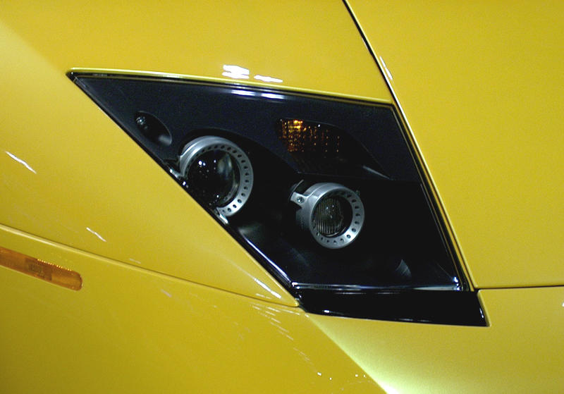 2002 Lamborghini Diablo Headlight Photo Net