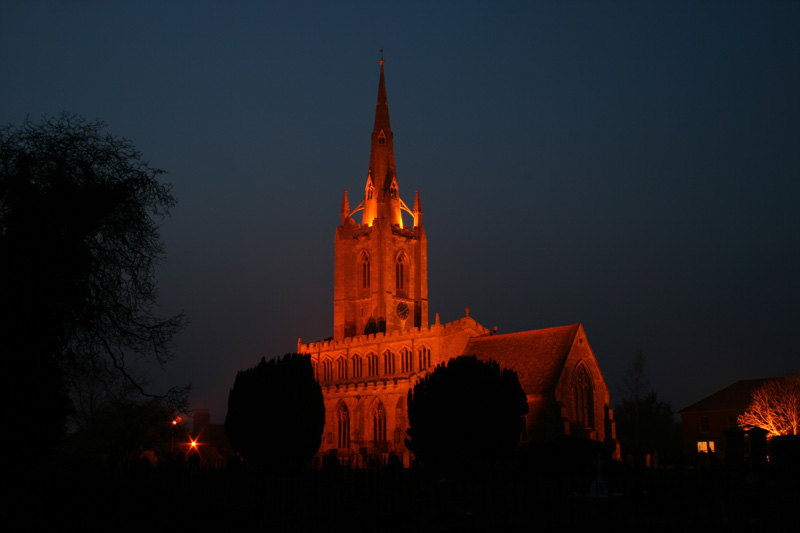 st andrew s church at night author pearson dave