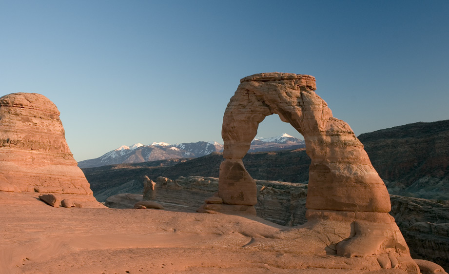 delicate arch sunset author bryson steve