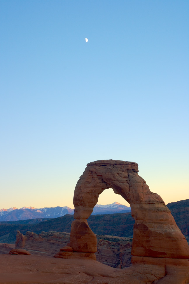 delicate arch and moon author bryson steve