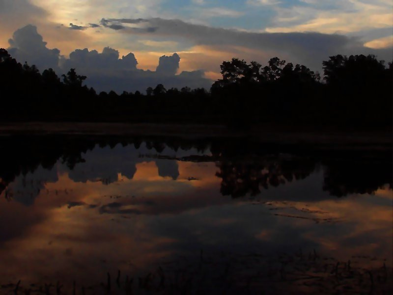 pond at dusk please view as larger author kelly landrum