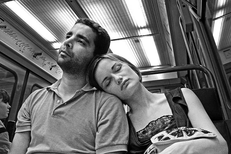 tired in the subway author dupin eric