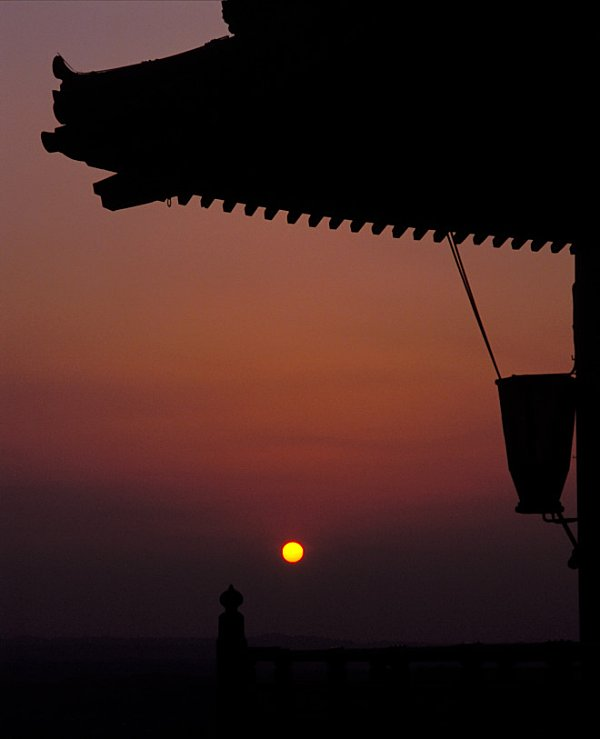 sunset from the temple author rivoal florian
