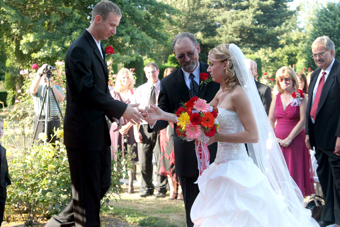 giving the bride away author root josh
