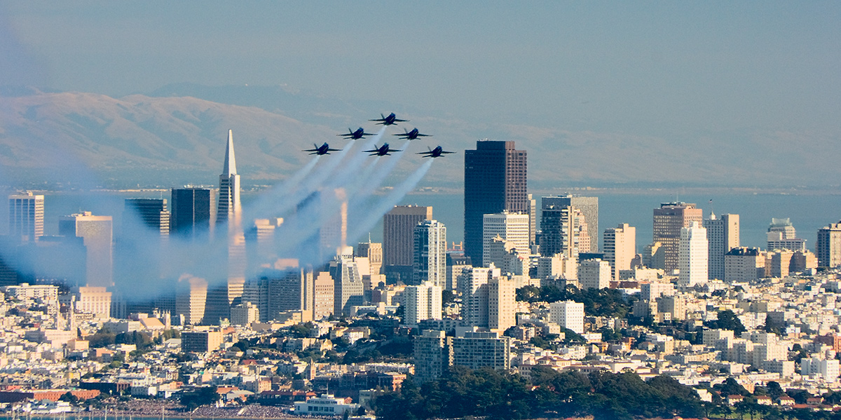 blue angels and san fransicso author bryson steve