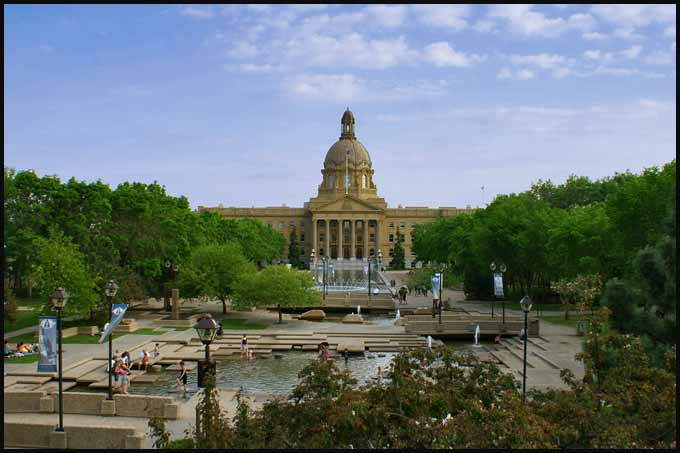 alberta canada state capitol in edmonton author d downs jim
