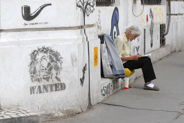 wanted or about an old woman in bucharest author ursu mihail