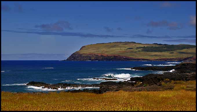sw coast of easter island author downs jim