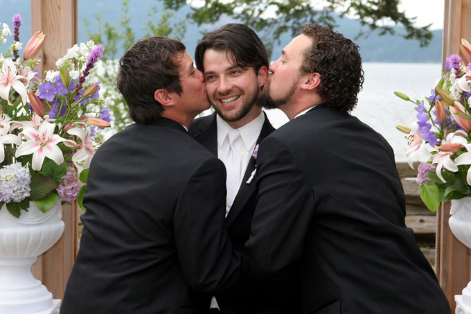 the guys sharing a kiss author root josh