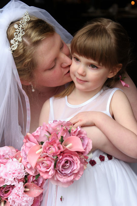 the bride kisses her daughter author root josh