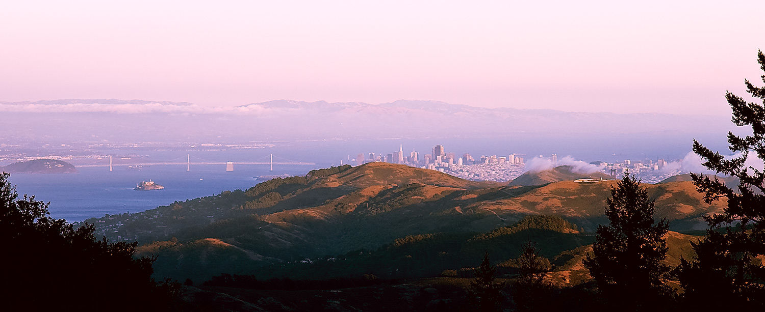 golden san francisco sunset from marin county aut bryson steve