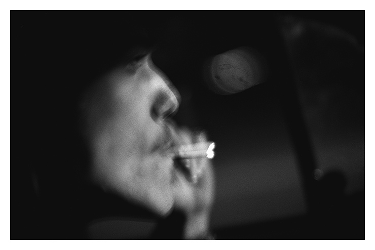 jeremy smokes while driving author walker clay