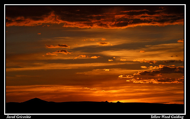 sheep rock sunset author gricoskie jared