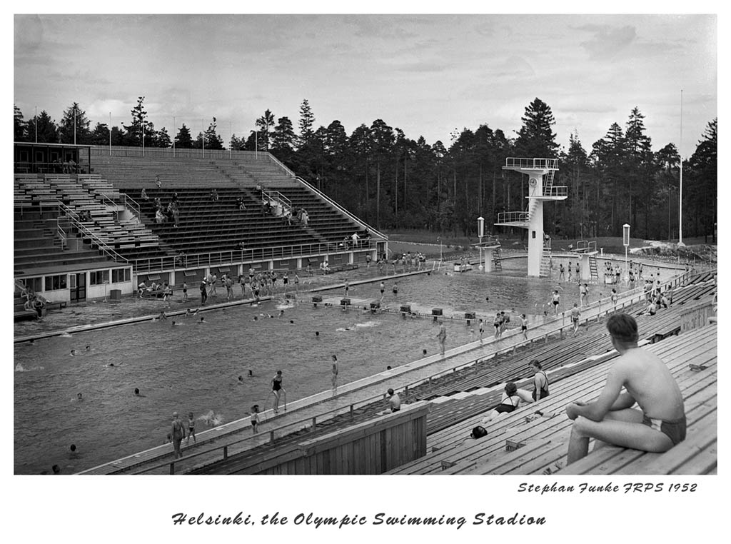 the olympic swimming stadion author funke stepha stephan