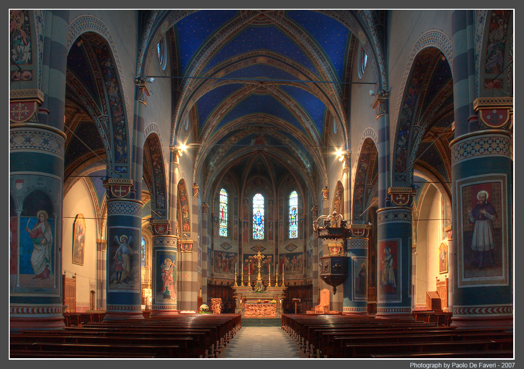pinerolo the cathedral piedmont italy author de faveri paolo