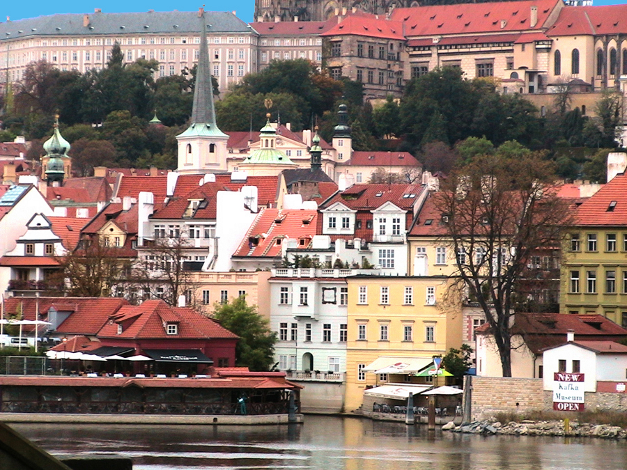 prague and the moldau river author womack john