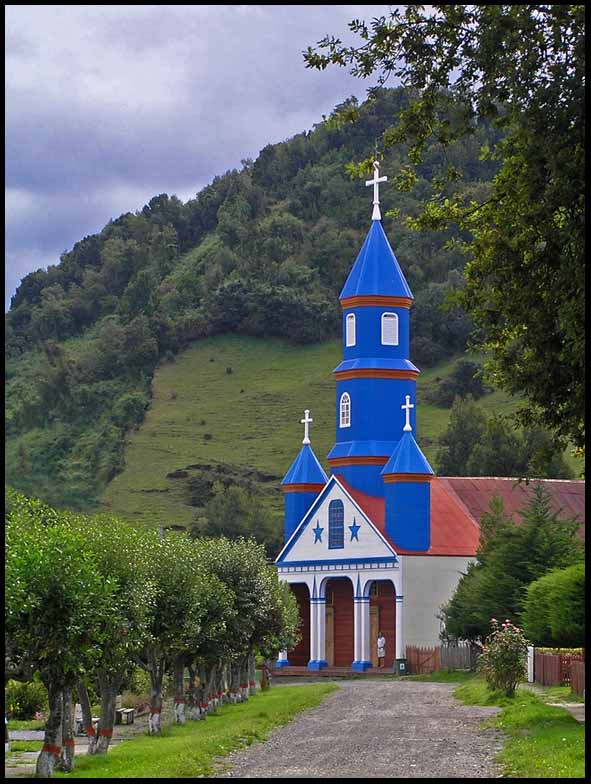 the wooden churches of chiloe island chile author downs jim