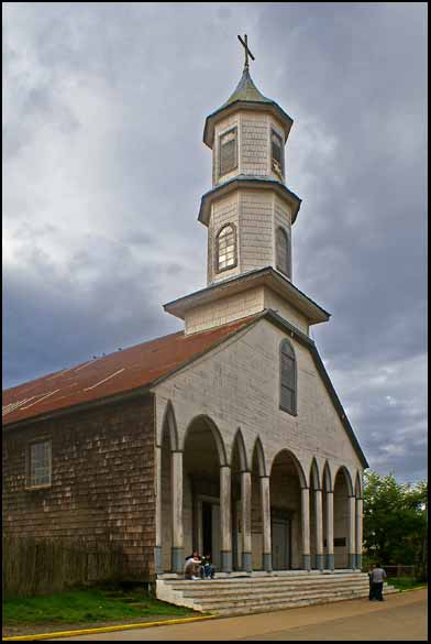 chiloe island s wooden churches author downs jim
