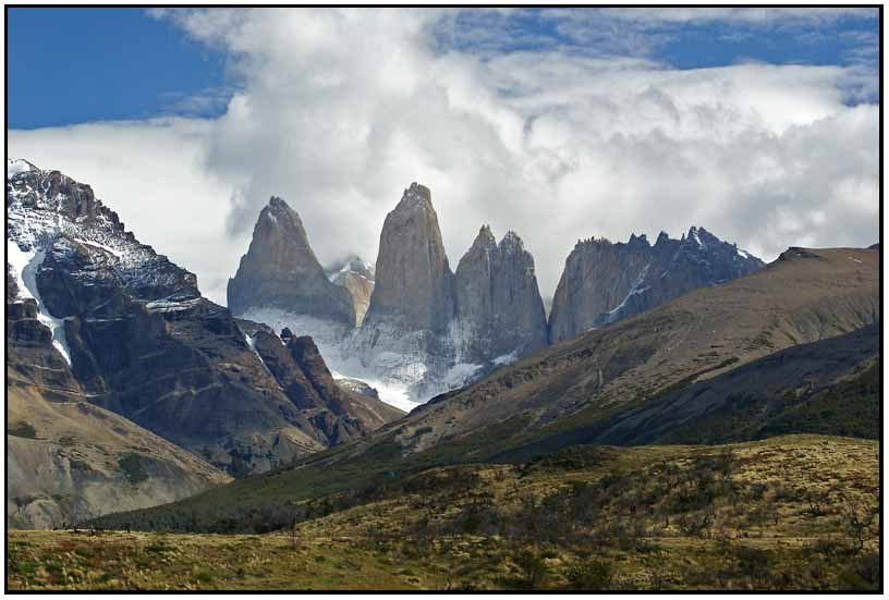 the smoking towers of torres del paine np author downs jim