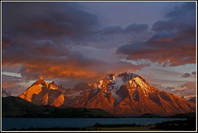 first light on torres del paine np author downs j jim