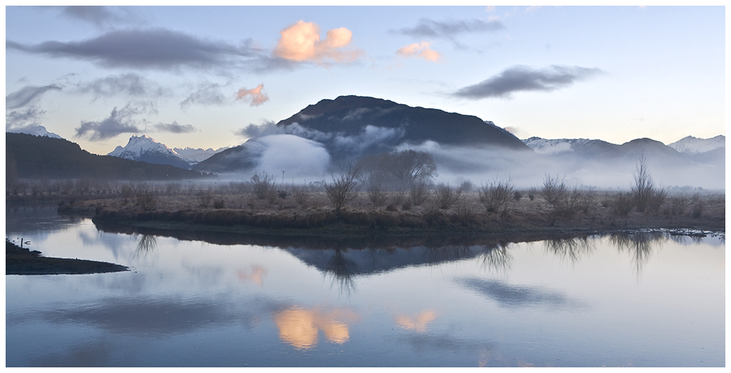 early morning swamps kinloch nz author vezina marc