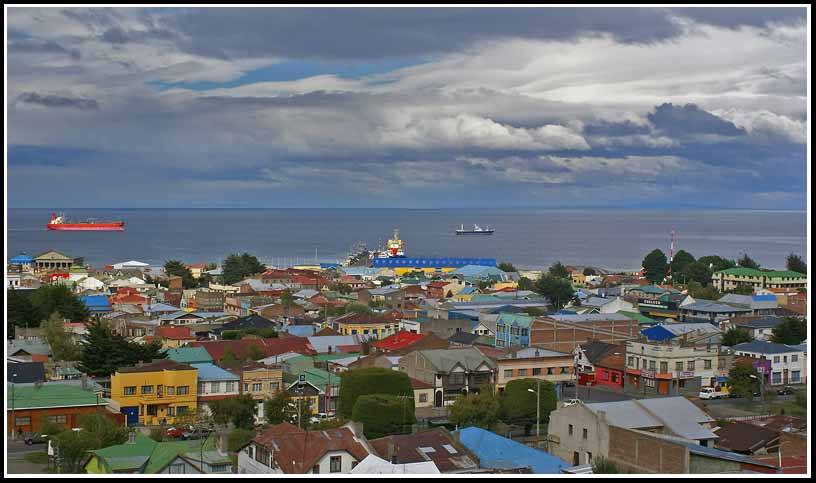 the straits of magellan at punta arenas chile aut downs jim