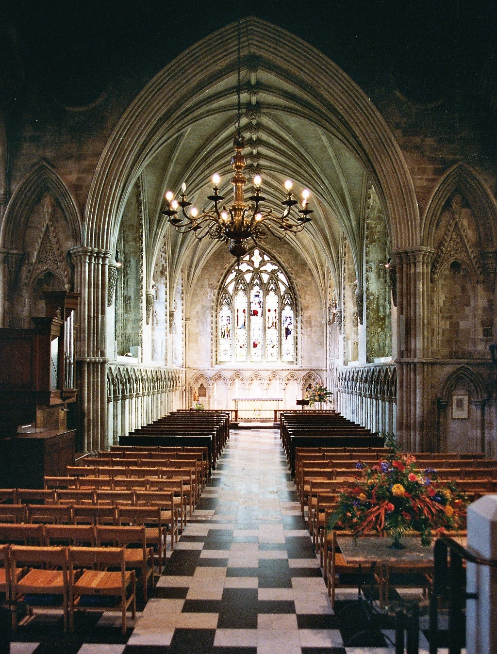 inside st albans cathedral author rance ian