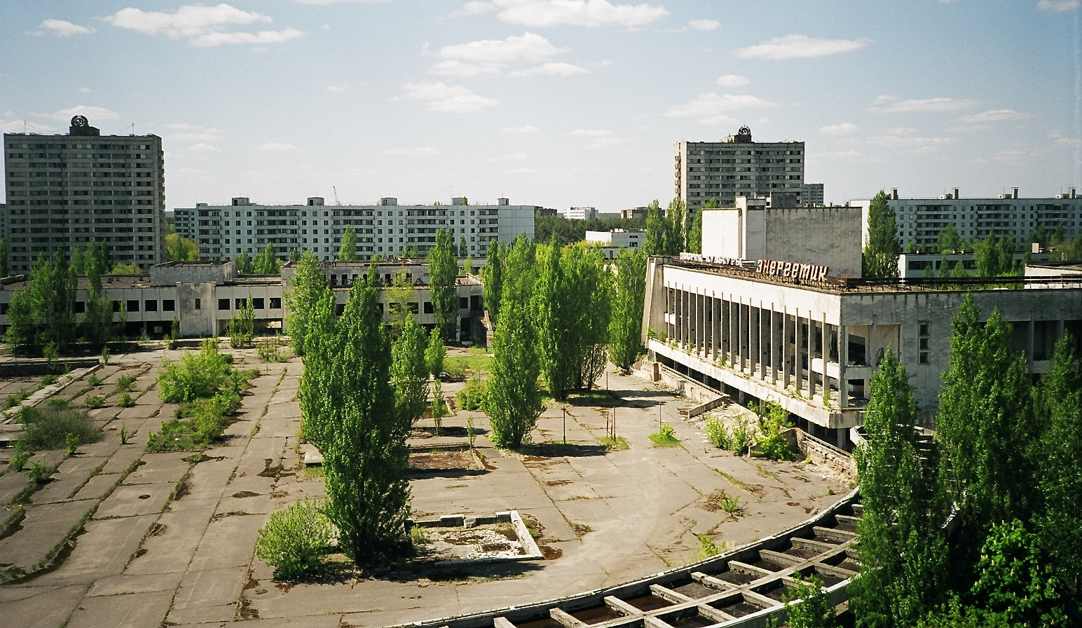 palace of culture and main square pripyat author rance ian