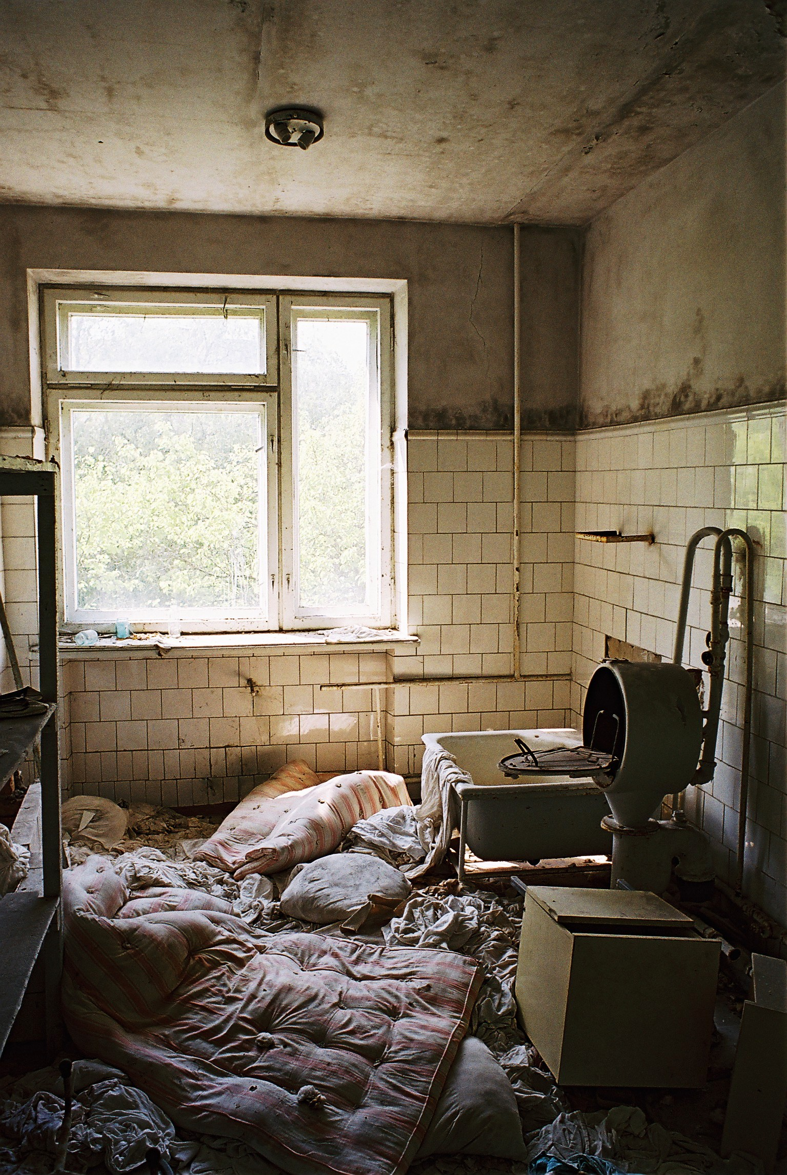 bedding materials in the hospital pripyat author rance ian