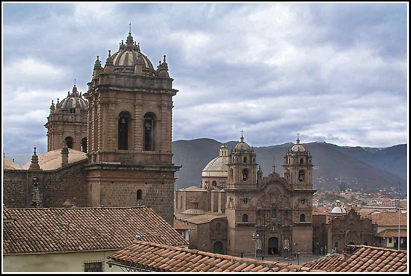 cusco belltowers on the plaza del armas author do downs jim