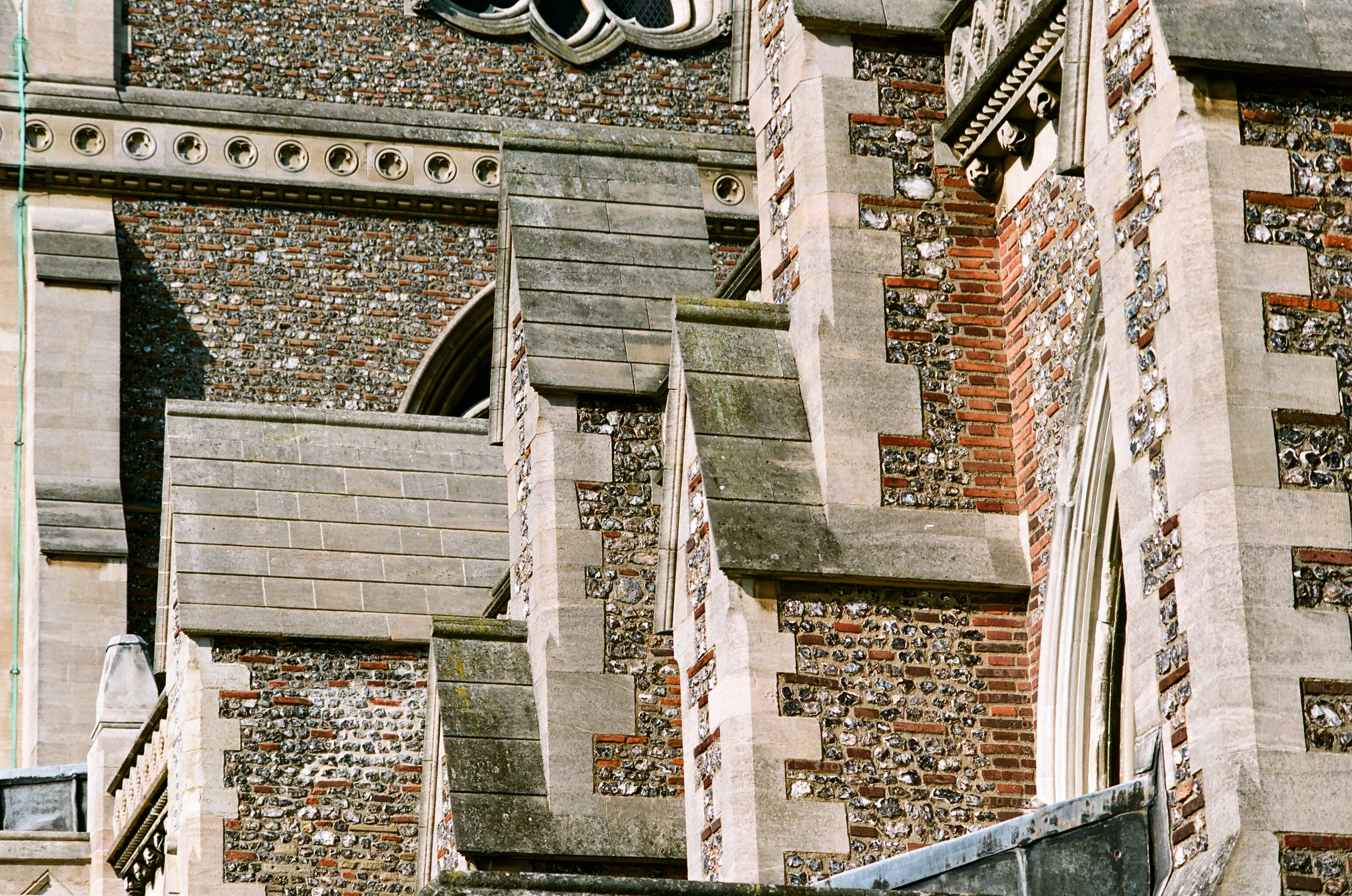 detail of st albans cathederal author rance ian