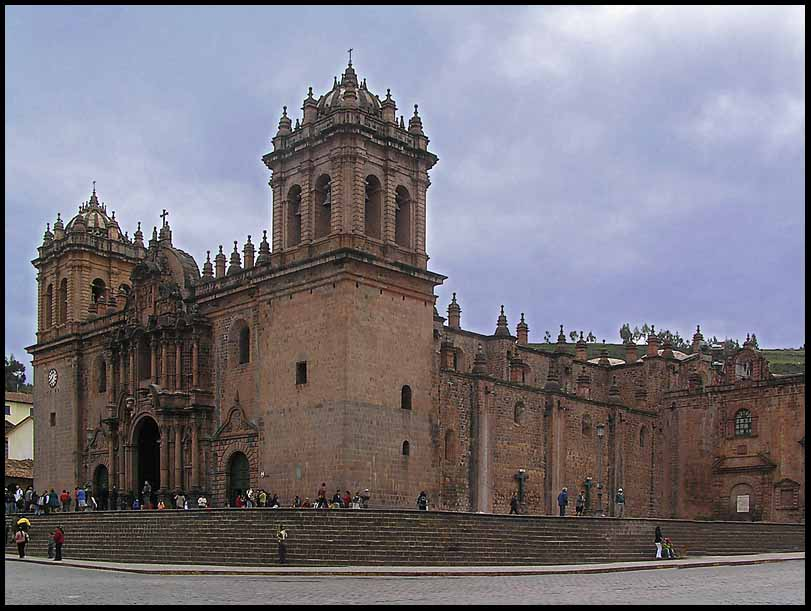 cusco cathedral author downs jim