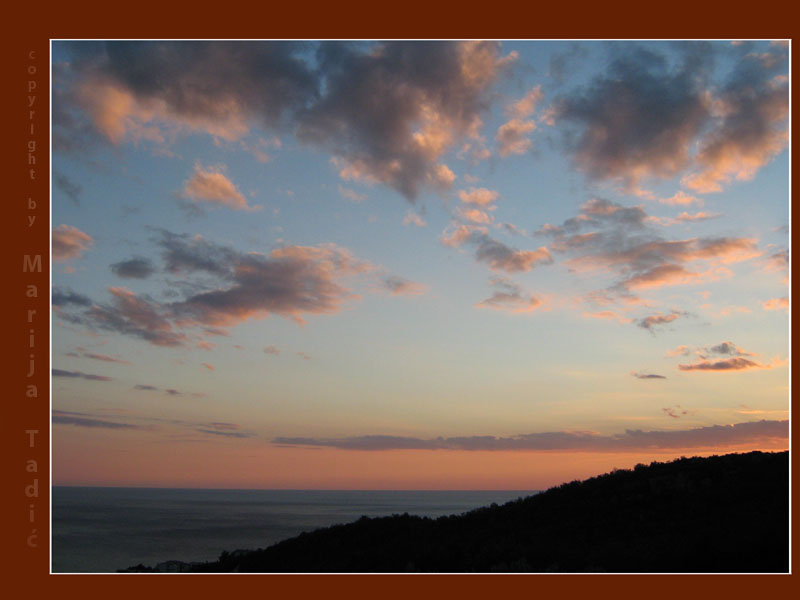 the beautiful sunset with a friend author tadic maria