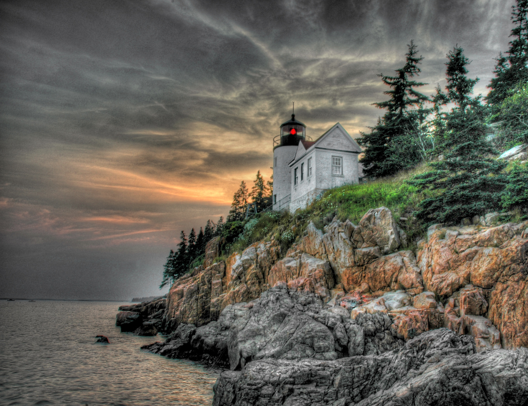 bass harbor lighthouse maine author scherer kevin
