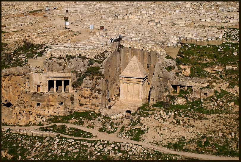 st c ce tombs in kidron valley jerusalem author downs jim