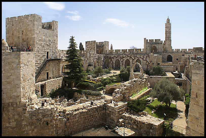 interior of jerusalem s citadel author downs jim