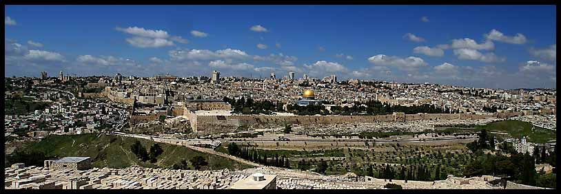 old jerusalem panorama larger view author downs jim