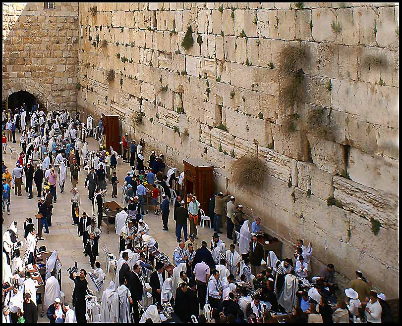 west wailing wall in jerusalem author downs jim
