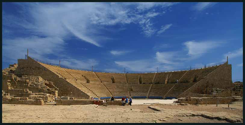 roman theater at caesarea author downs jim