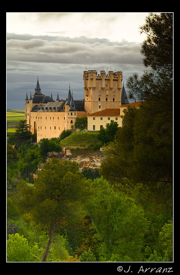 alcazar de segovia author arranz jess