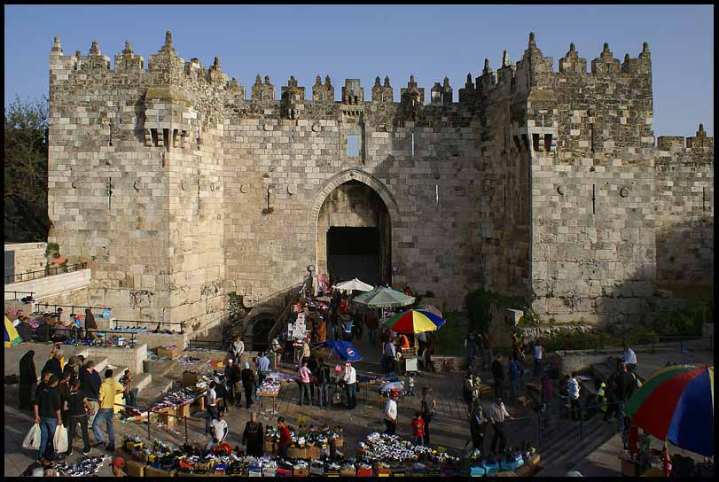 the damascus gate in old jerusalem author downs j jim