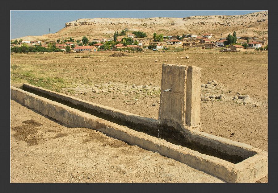 a fountain for us and the sheep at yenihisar celasun bulent