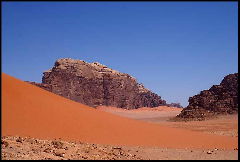 wadi rum in southern jordan author downs jim