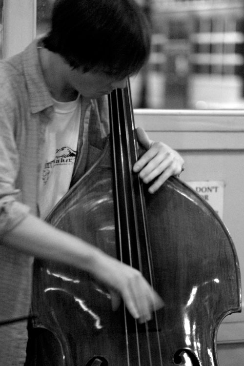 jazz bass player author root josh
