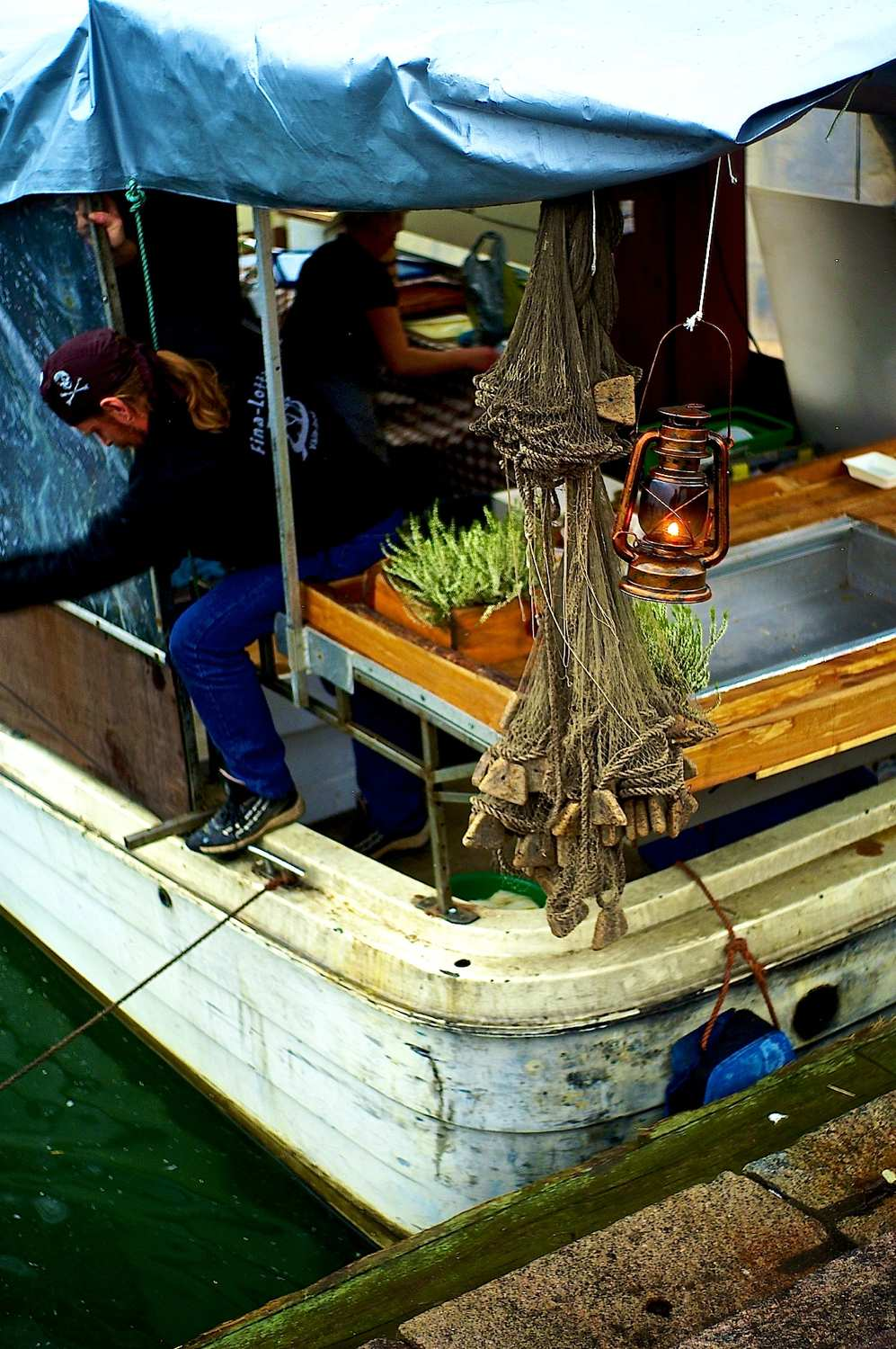 old fishing market closes author soini hannu